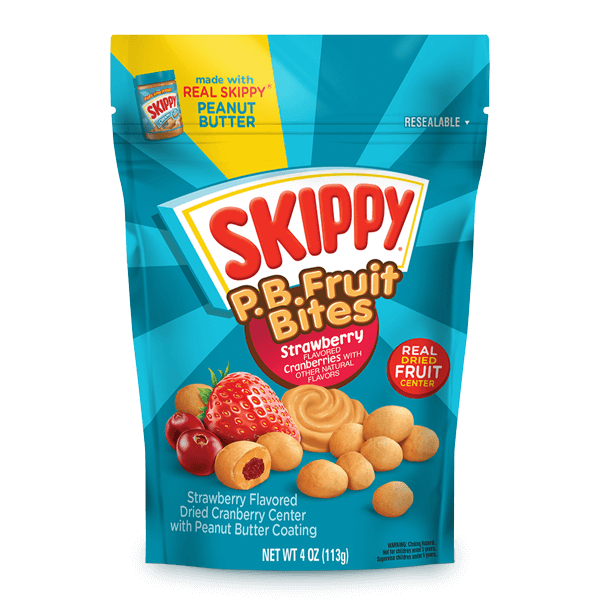 SKIPPY® P.B. Fruit Bites Strawberry