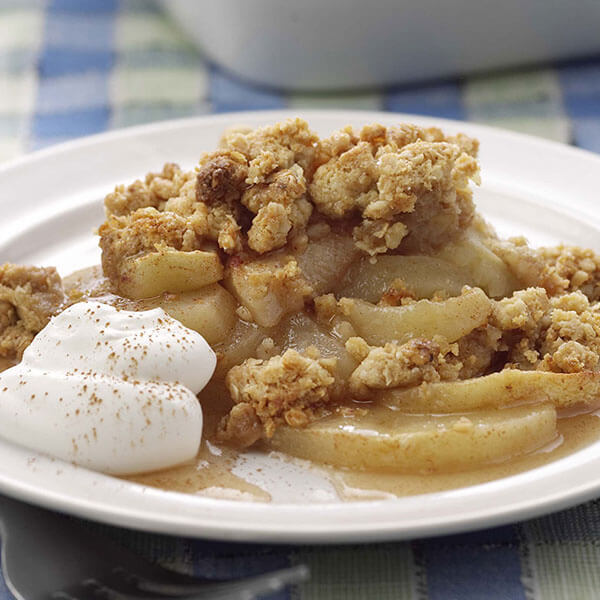 Apple 'n Peanut Crisp – Recipes