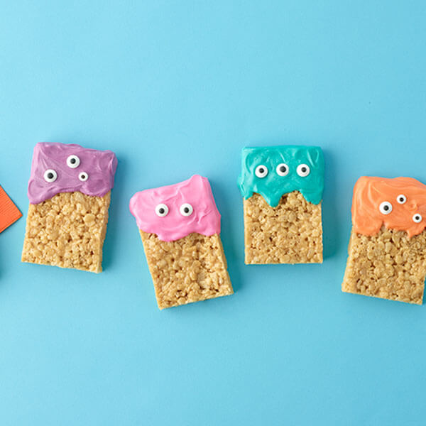 Crispy Rice Treat Monsters – Recipes