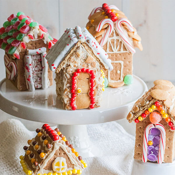 Graham Cracker Houses – Recipes