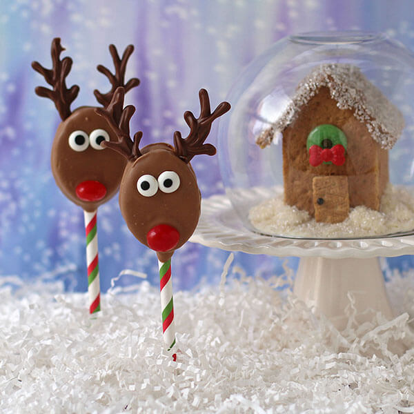 Peanut Butter Reindeer Pops – Recipes