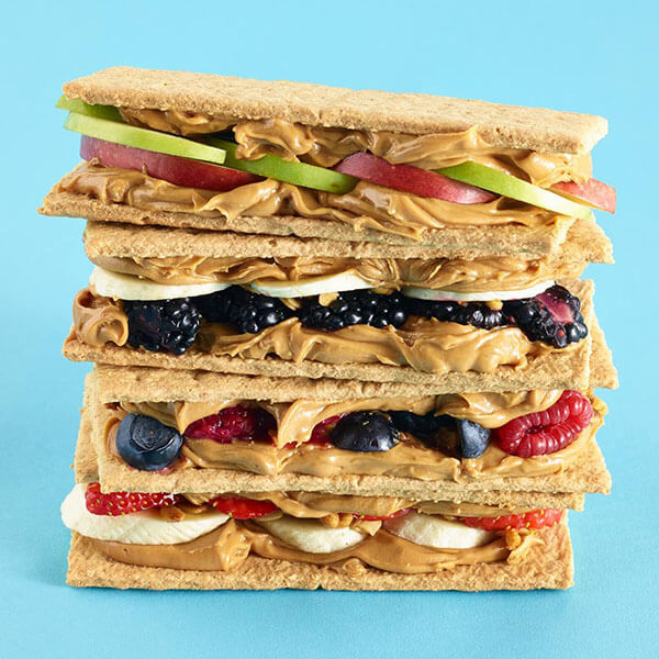 PB Sandwich Snacks – Recipes