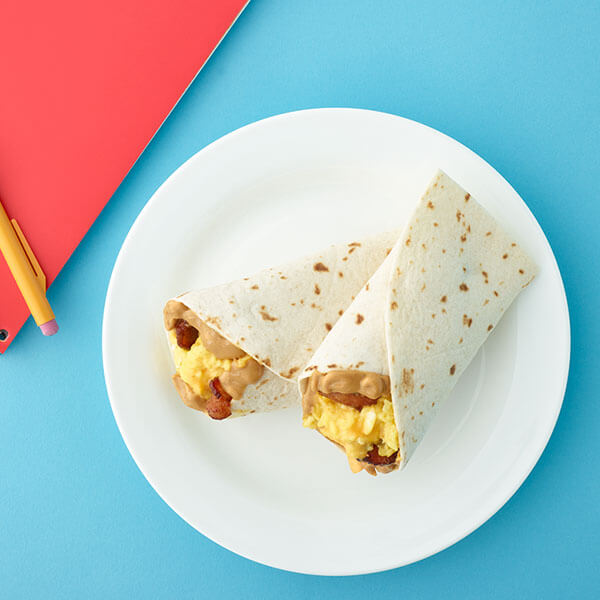 Peanut Butter Bacon Egg and Cheese Wrap – Recipes