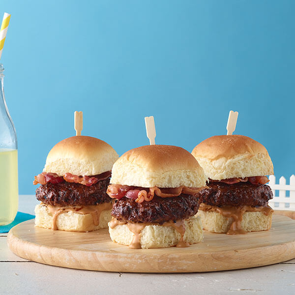 Peanut Butter-Bacon Sliders – Recipes