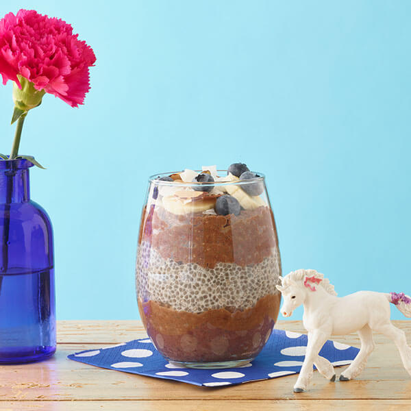 Peanut Butter Cocoa Chia Pudding Parfait – Recipes