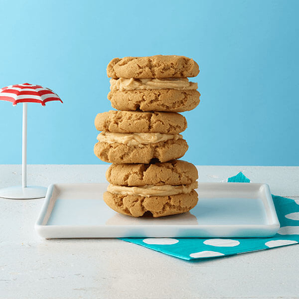 Peanut Butter Cookie Sandwiches – Recipes