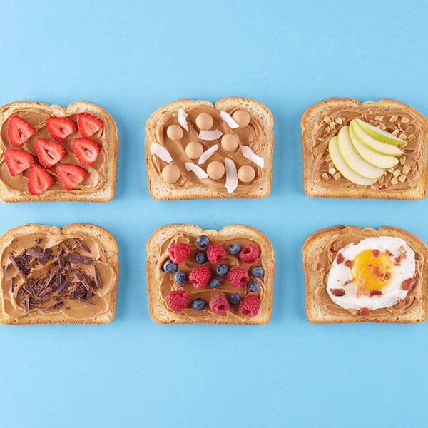 Peanut Butter Toasts – Recipes