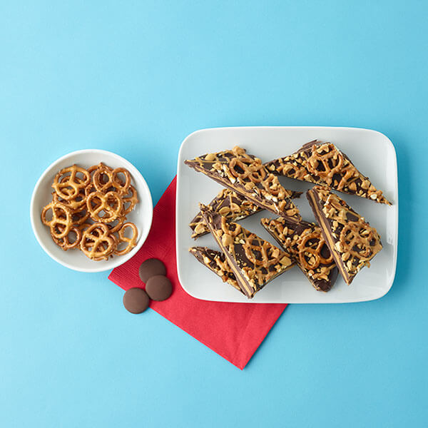 Pretzel Peanut Butter Bark – Recipes