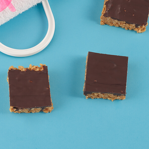Peanut Butter Brown Rice Bars – Recipes