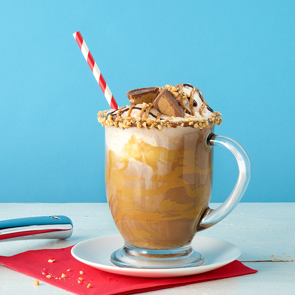 Peanut Butter Hot Chocolate Float – Recipes