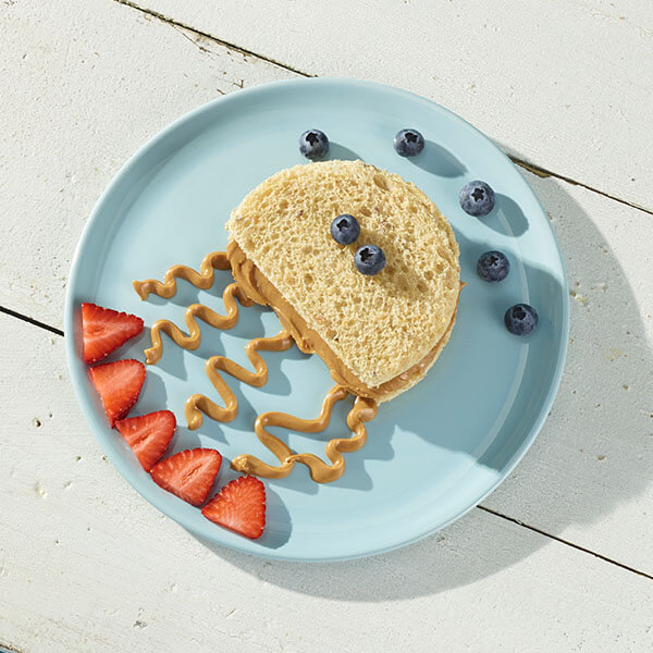 Peanut Butter Jellyfish Sandwich – Recipes