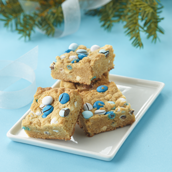 SKIPPY® Peanut Butter and Candy Cookie Bars
