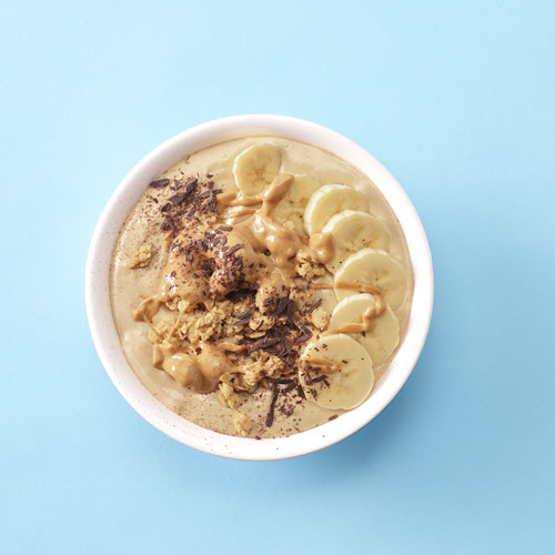 SKIPPY® Peanut Butter Banana Smoothie Bowls
