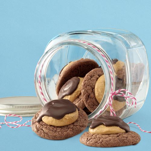 SKIPPY<sup>®</sup> Buckeye Brownie Cookies